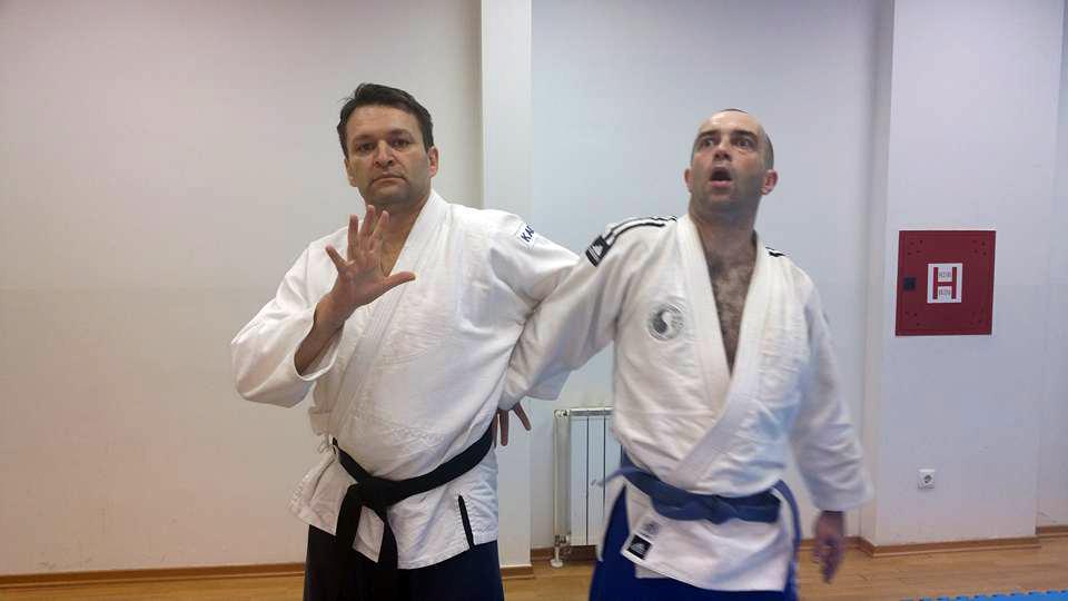 Trening u Hapkido IPA Zagreb